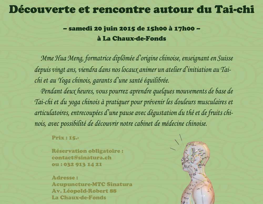 Atelier Tai-chi / Taiji Yoga chinois
